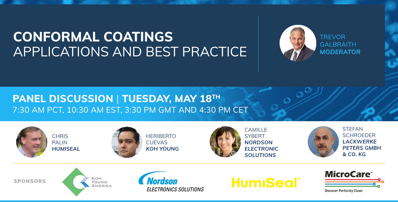 Join panel on Conformal coatings on May 18th